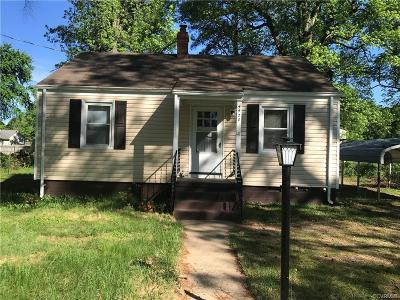 Chesterfield Single Family Home For Sale: 4420 Cogbill Road