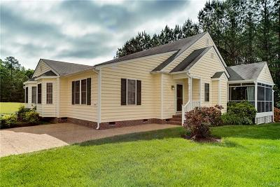 Petersburg Single Family Home For Sale: 812 Fort Hayes Court #b