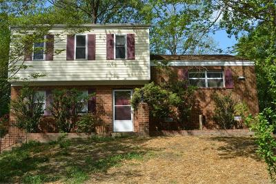 Chesterfield Single Family Home For Sale: 9366 Lost Forest Drive