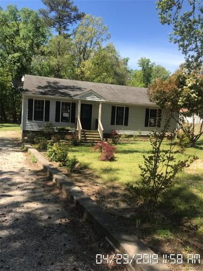 Chesterfield Single Family Home For Sale: 6206 Howell Drive