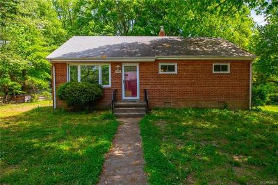 Richmond Single Family Home For Sale: 3509 Woodmere Drive