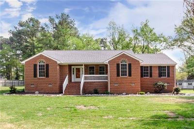 Dinwiddie Single Family Home For Sale: 14115 Elm Street