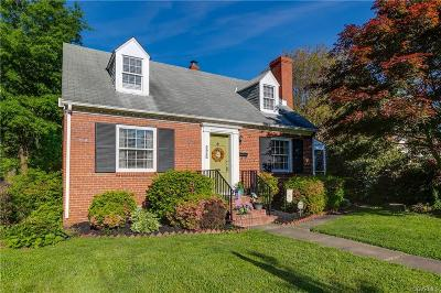Richmond Single Family Home For Sale: 3926 Brook Road