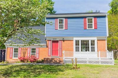 Henrico Single Family Home For Sale: 2512 Arrington Road