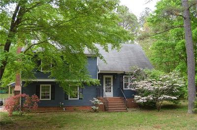 Chesterfield Single Family Home For Sale: 15210 Beach Road