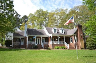 Heathsville Single Family Home For Sale: 569 Pine Crest Drive