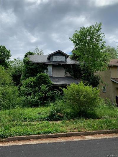 Richmond Single Family Home For Sale: 3307 Garland Avenue