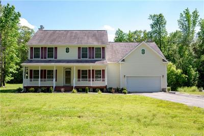 Ruther Glen Single Family Home For Sale: 26054 Zion