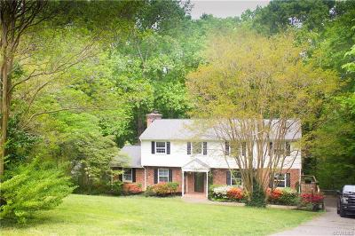 Chester, Chesterfield Single Family Home For Sale: 4200 October Road