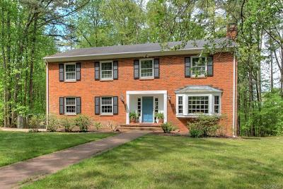 Hanover County Single Family Home For Sale: 14211 Hickory Oaks Lane