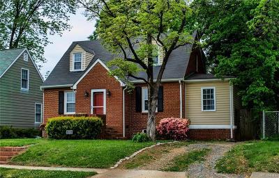 Richmond Single Family Home For Sale: 6812 Kensington Avenue