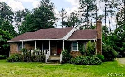 Glen Allen Single Family Home For Sale: 2563 Blackburn Road