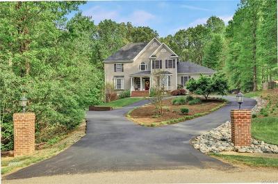 Powhatan County Single Family Home For Sale: 1475 Donavon Mill Lane