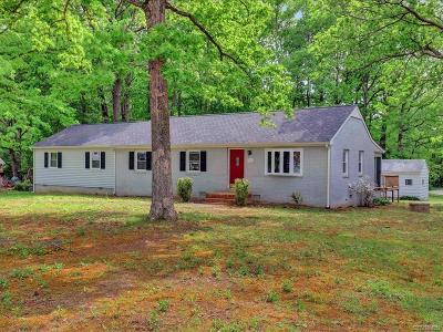 Powhatan Single Family Home For Sale: 1543 Holly Hills Road