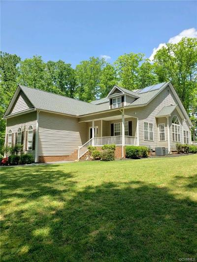 Powhatan County Single Family Home For Sale: 4136-B Old River Trail