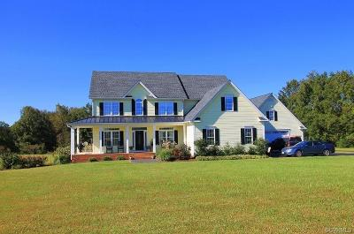 Amelia County Single Family Home For Sale: 14200 Grub Hill Church Road