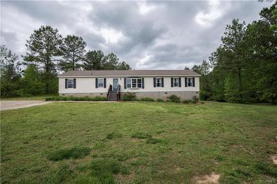 Single Family Home For Sale: 23417 Cabin Point Road