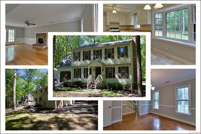Chesterfield County Rental For Rent: 14008 Autumn Woods Road