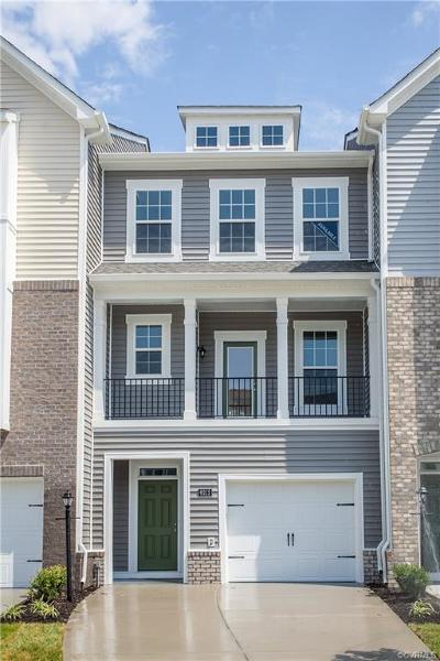 Chester Condo/Townhouse For Sale: 6212 W Stonepath Garden Drive