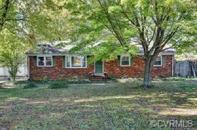 Powhatan Single Family Home For Sale: 1233 Schroeder Road