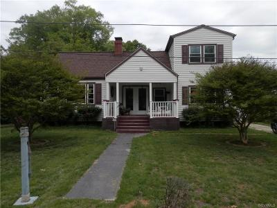 Colonial Beach Single Family Home For Sale: 529 Westmoreland Avenue
