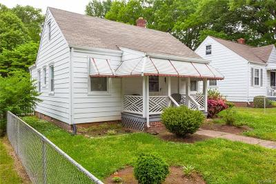 Richmond Single Family Home For Sale: 1702 Texas Avenue