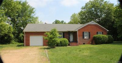 Henrico Single Family Home For Sale: 1174 New Market Road