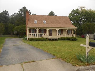 Mechanicsville Single Family Home For Sale: 8315 Old Cavalry Court