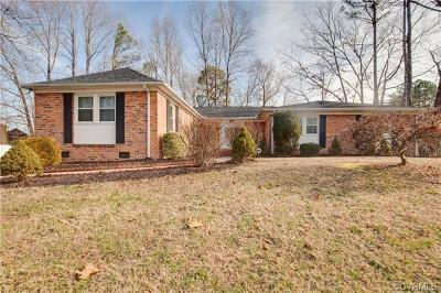 Chester Single Family Home For Sale: 12700 Middlebrook Road