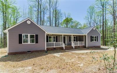 New Kent Single Family Home For Sale: 9018 Rock Cedar Road