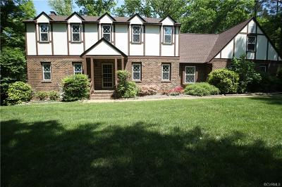 Midlothian Single Family Home For Sale: 13404 Castle Hollow Court