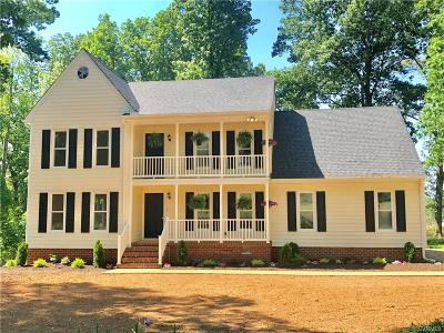 Powhatan County Single Family Home For Sale: 2538 Mill Road