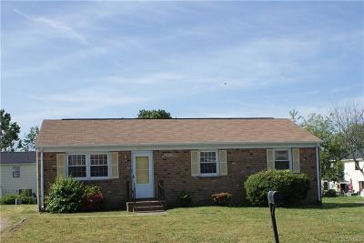Hopewell Single Family Home For Sale: 3912 Gloucester Drive