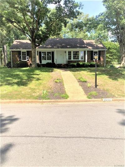 Henrico Single Family Home For Sale: 1601 Hollandale Road