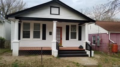 Single Family Home For Sale: 1712 Claiborne Street