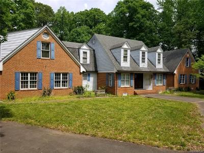 Henrico County Single Family Home For Sale: 4670 E Williamsburg Road