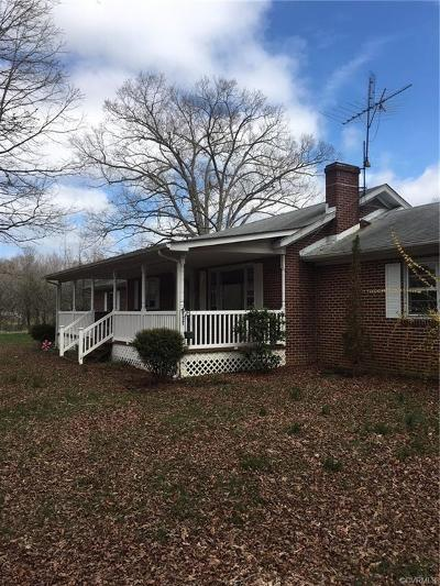 Bumpass Single Family Home For Sale: 3532 Diggstown Road