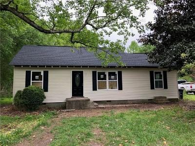 Charles City Single Family Home For Sale: 8700 The New Road