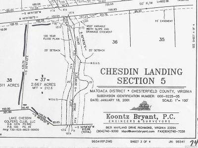 Chesterfield Land For Sale: 13413 Corapeake Terrace