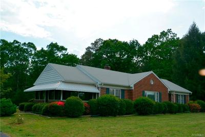 Farmville Single Family Home For Sale: 767 Fairgrounds Rd