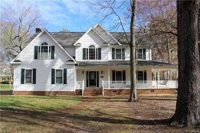 Single Family Home For Sale: 8111 Robins Neck Road