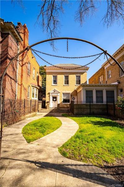 Richmond VA Single Family Home For Sale: $999,950