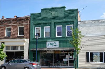Colonial Heights, Hopewell, Prince George Commercial For Sale: 236 E Broadway