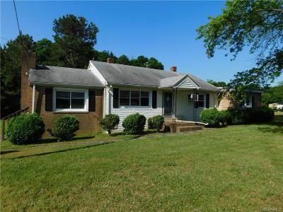 Glen Allen Single Family Home For Sale: 13691 Mountain Road