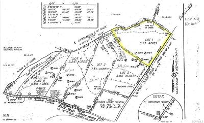 Land For Sale: Lot 1 Loving Union Road