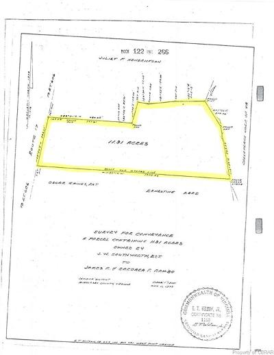 Land For Sale: 00 Tiderwater Trail