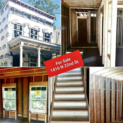 Richmond Single Family Home For Sale: 1416 N 22nd Street