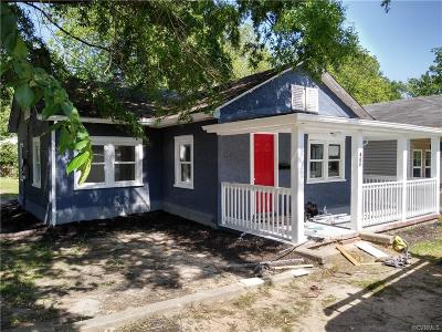 Hopewell Single Family Home For Sale: 401 S 19th Avenue