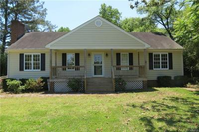 Chesterfield Single Family Home For Sale: 9011 River Road