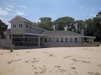 Deltaville Single Family Home For Sale: 131 Sandy Beach Road
